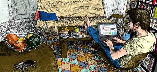 Travailler chez soi une r volution tranquille changer for Activite chez soi